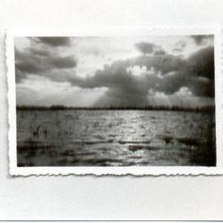 Polder overstroomd, 1944