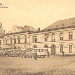 Spoorlijn 59 Antwerpen - Gent, oud station Sint-Niklaas