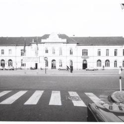 Het oude station van Sint-Niklaas